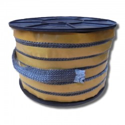 Taśma ceramiczna zbrojona czerniona samoprzylepna 40x6