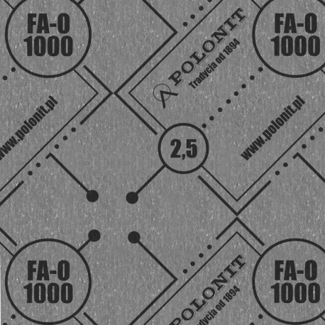 Płyta FA-O 1000 1000x1500x1,0 mm